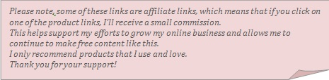 affiliate marketing disclaimer